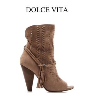 New!  Dolce Vital Maddox open toe bootie